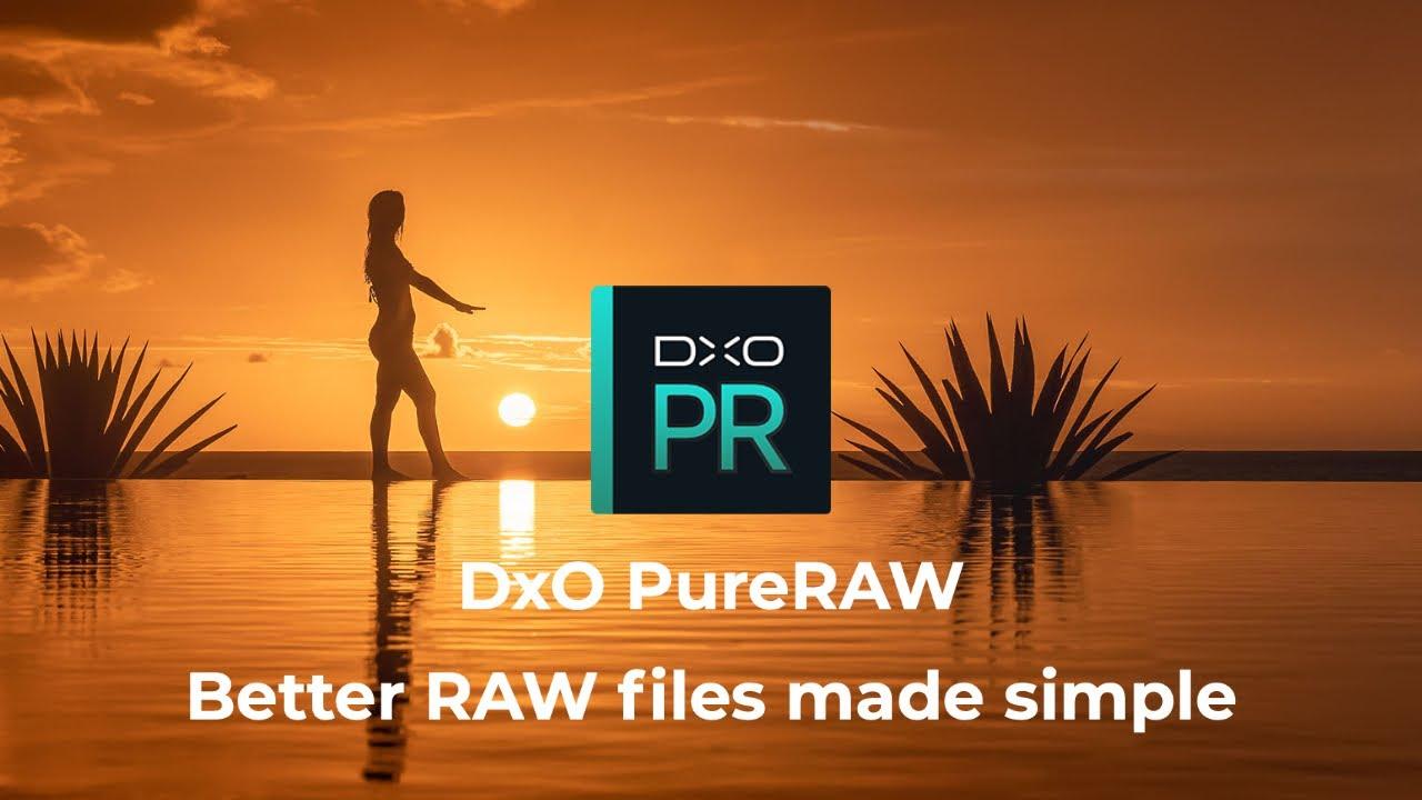 Screenshot, DxO,PureRaw Software