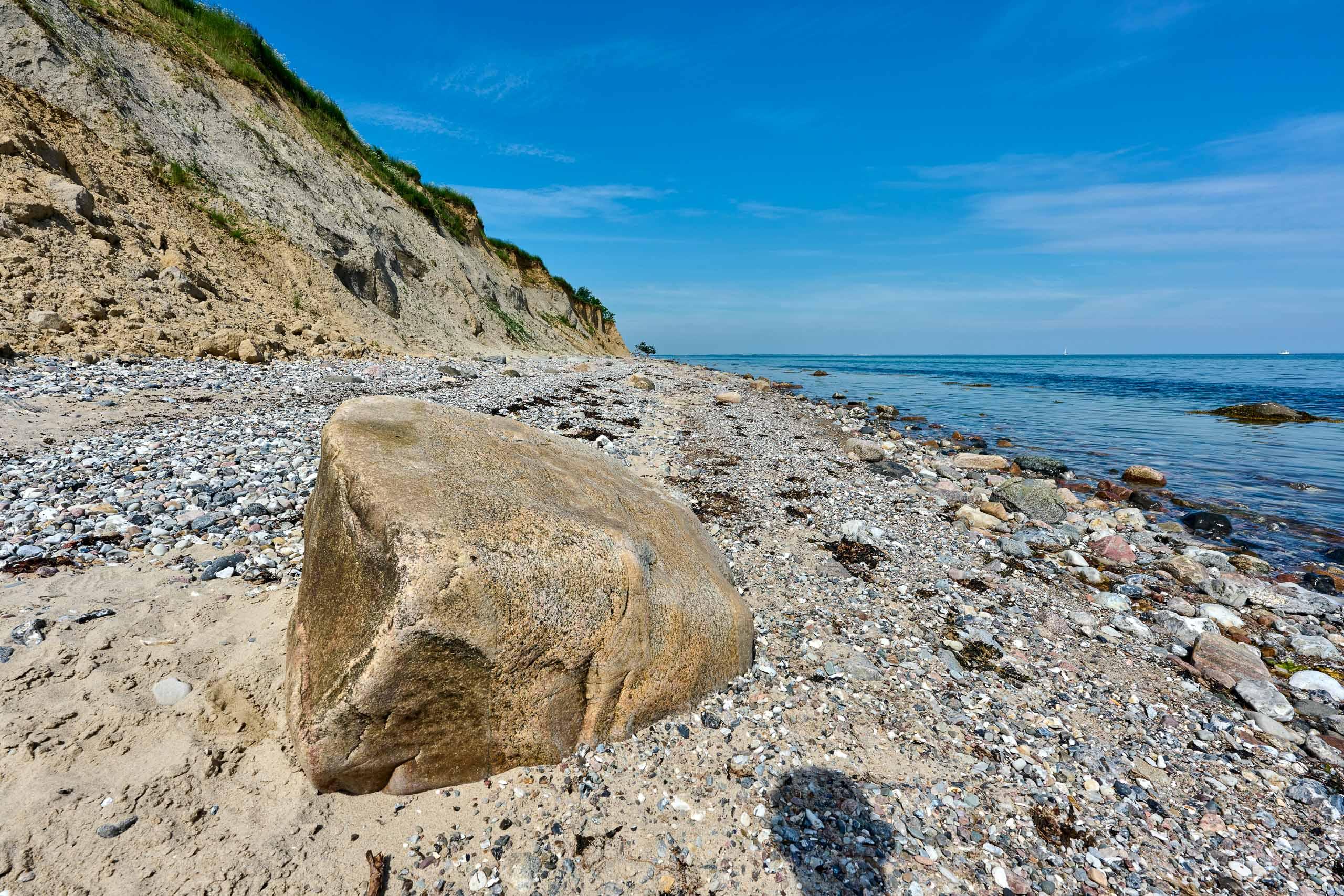 Felsen, Steilküste ,Ostsee