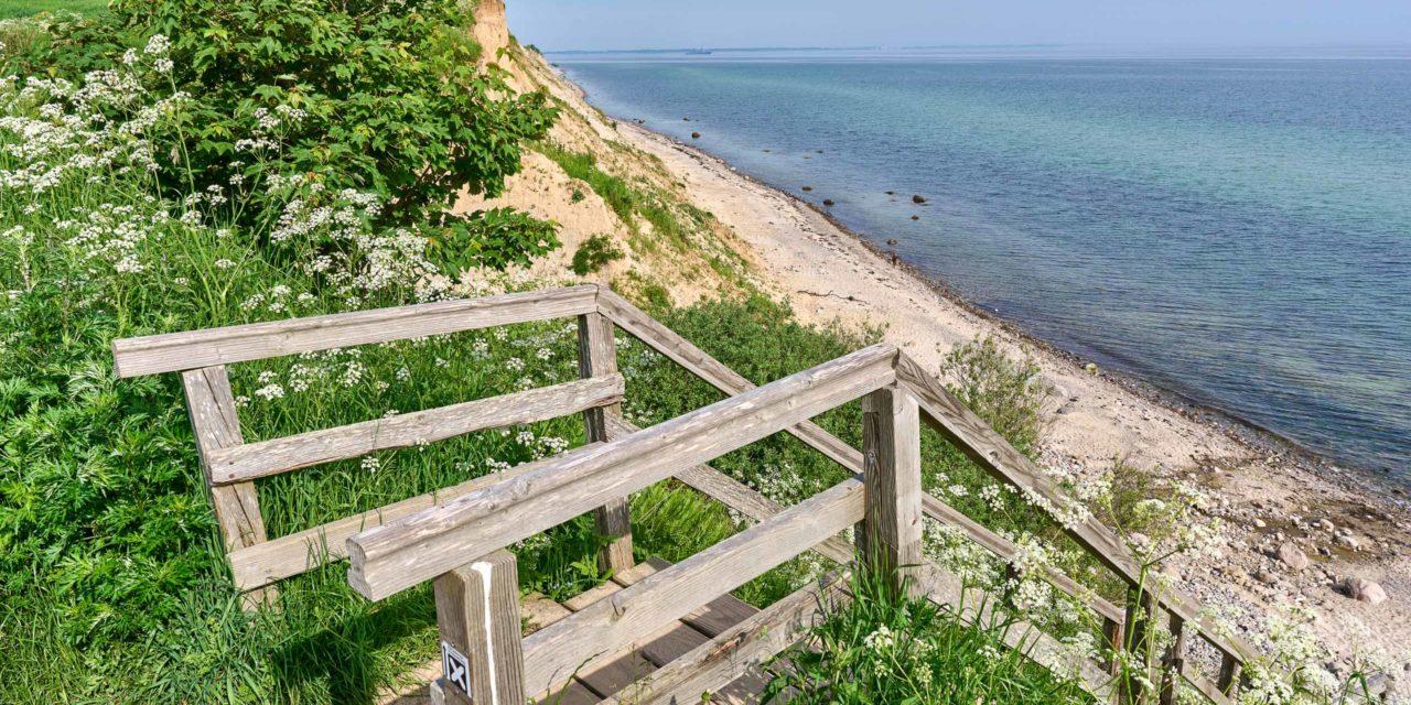 Ostsee, Schwedeneck die Steilküste