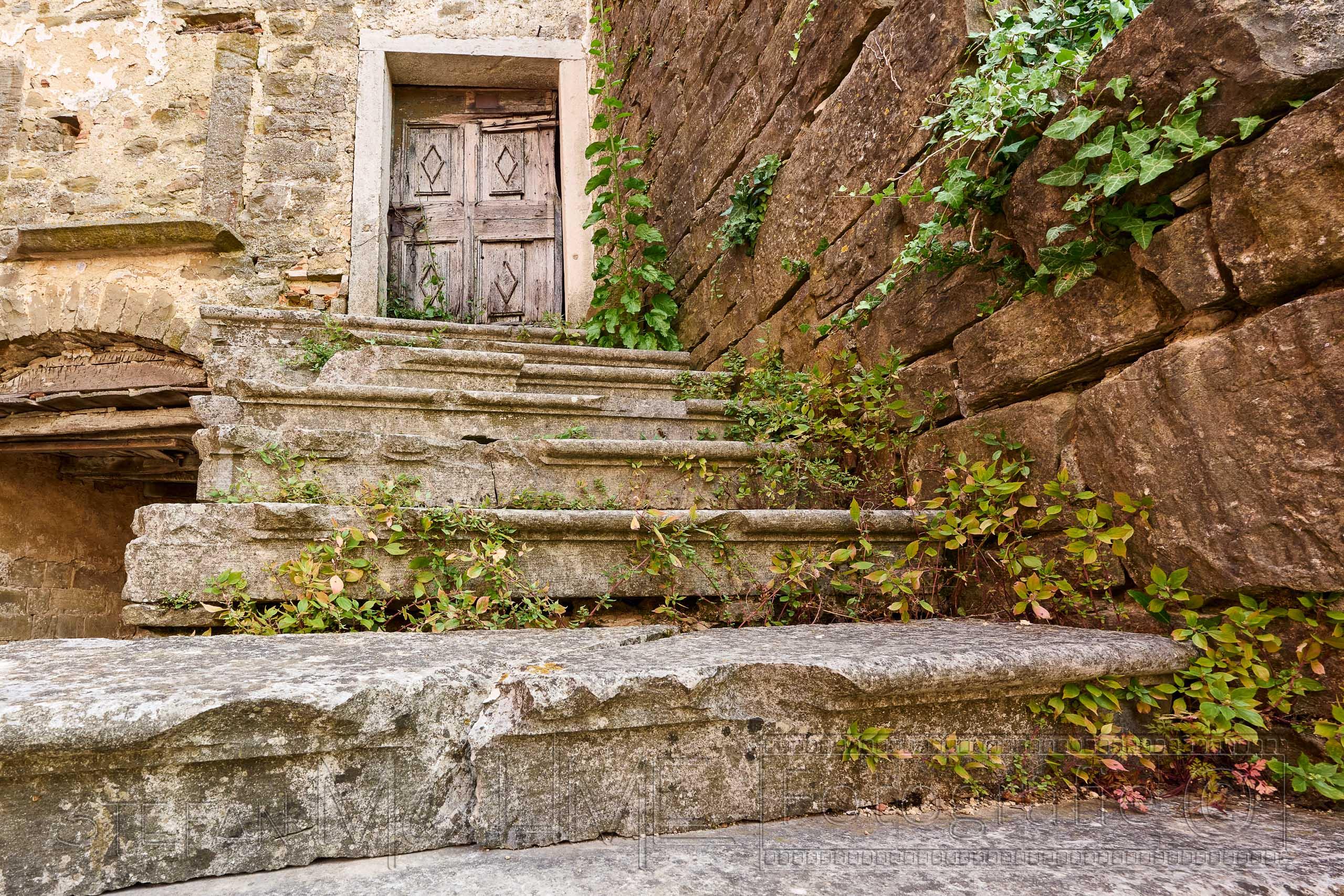 Alte ,Treppe, Altstadt ,Istrien