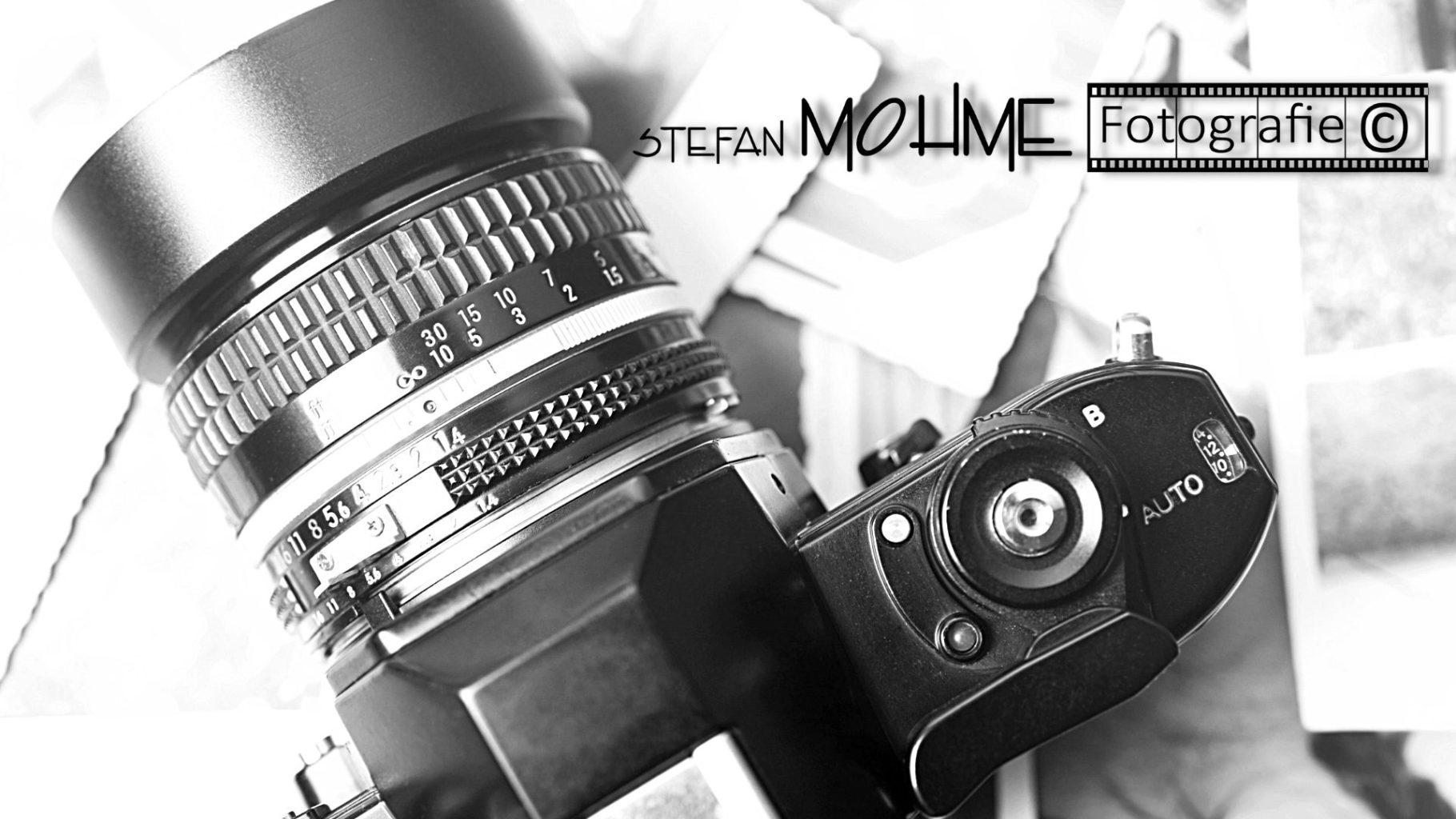 Kamera, Retro, schwarzweiss, Logo, Stefan Mohme