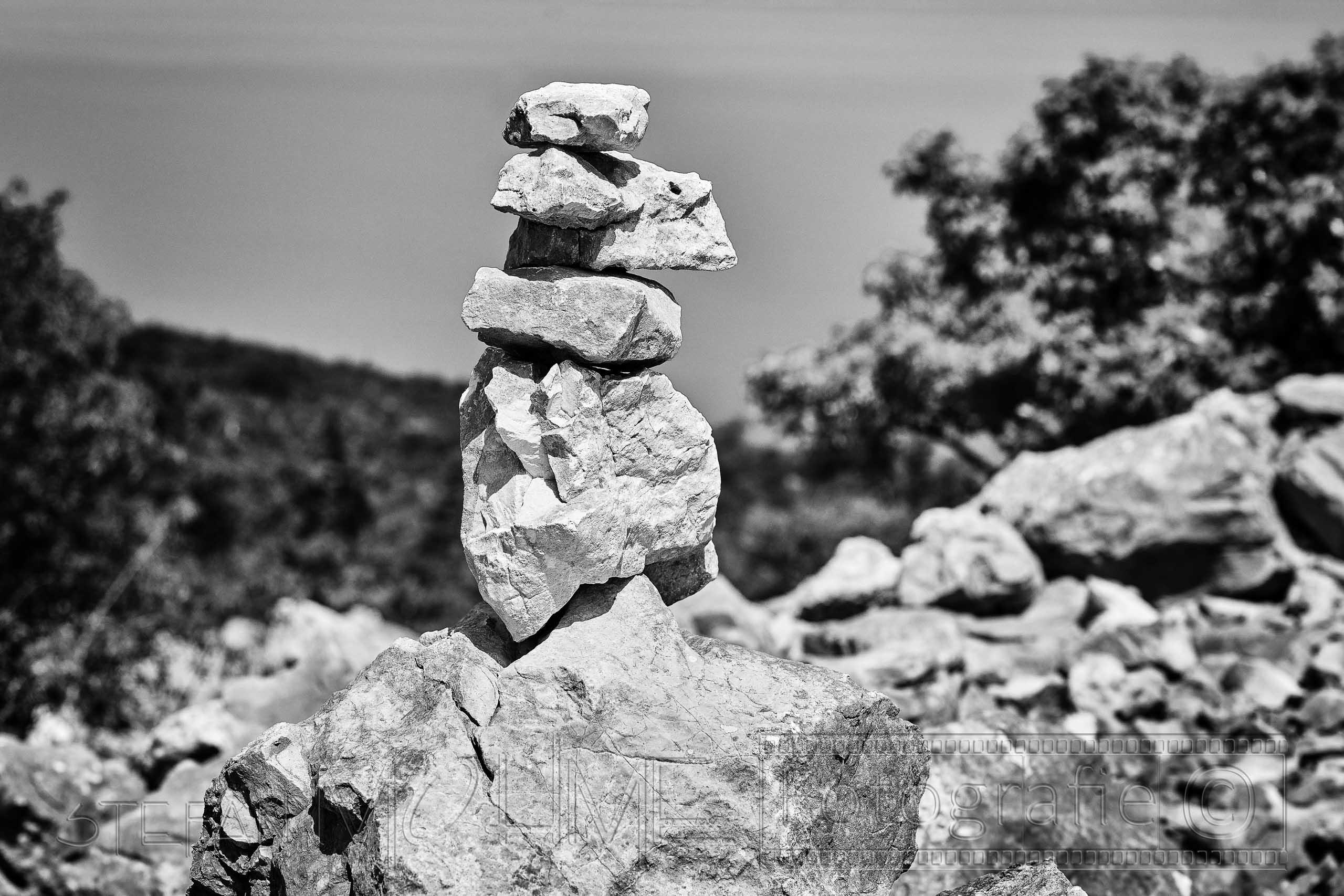 Schwarzweiss ,Steine ,Nahaufnahme