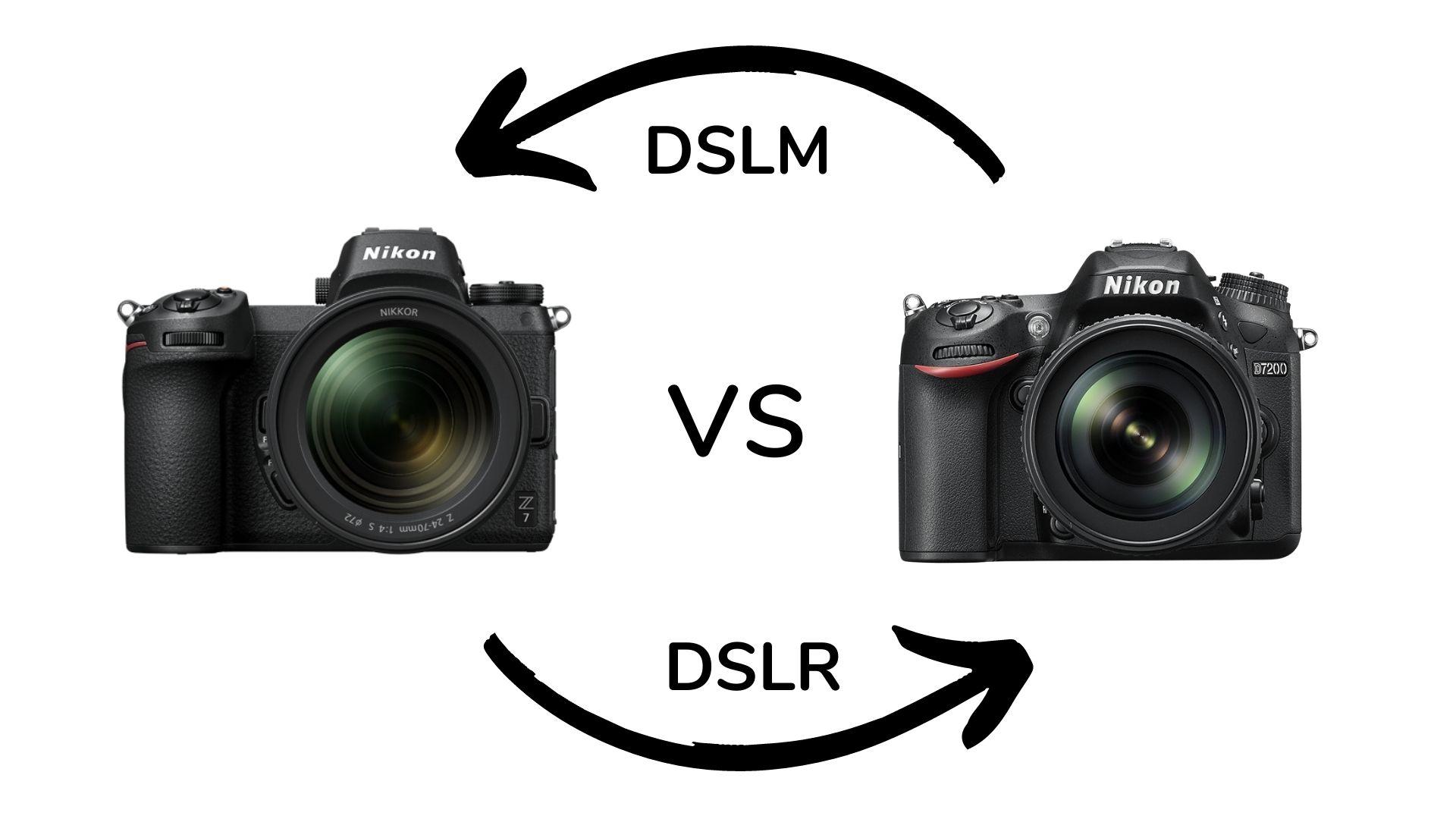 Grafik, DSLR vs DSLM ,Stefan Mohme