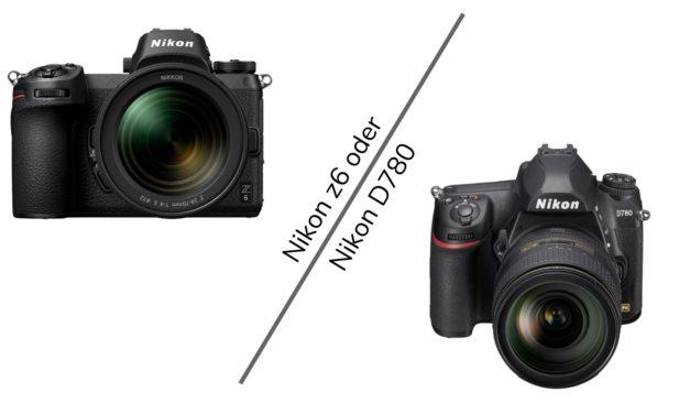 Welche Kamera Nikon D780, Oder doch lieber die neue Z6II ??