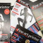 """Das Magazin für """"Drucker"""", fine art printer."""